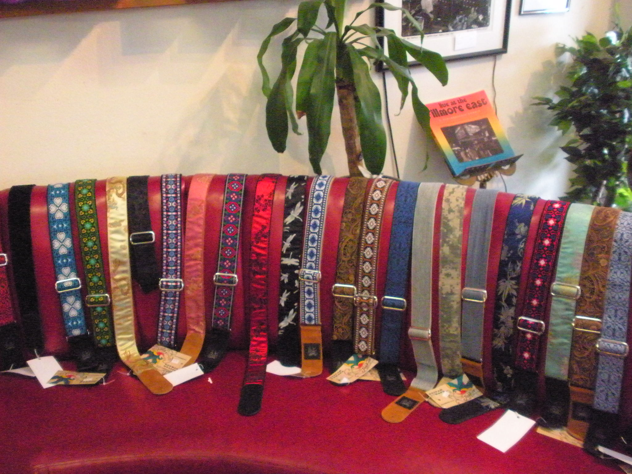 WE CARRY THE COOLEST SELECTION OF GUITAR STRAPS ANYWHERE