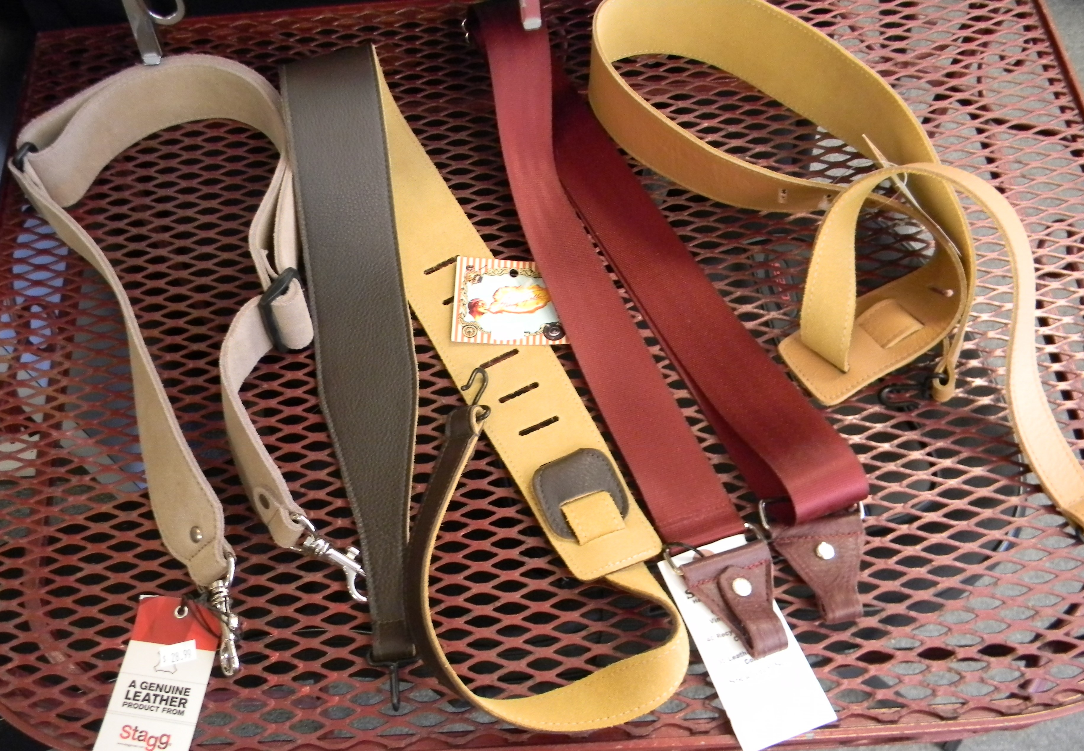 Fathers Day is soon. A cool strap makes an excellent gift. We have all kinds of straps.