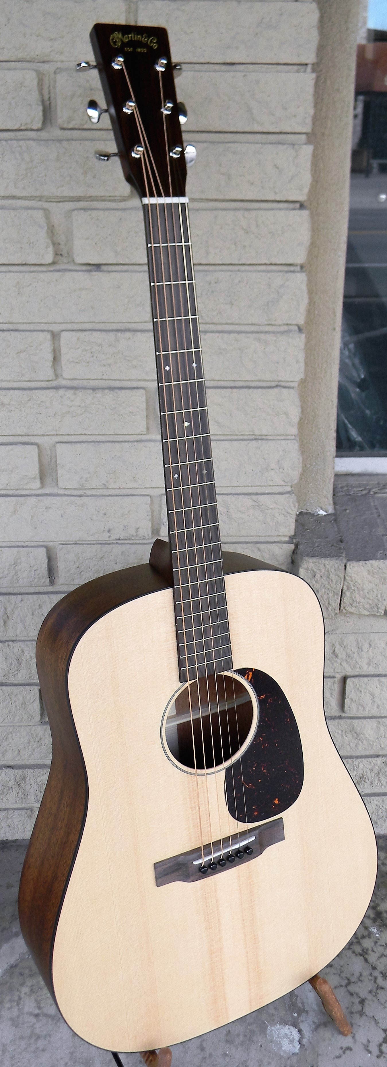 Martin D 15 Special with solid sitka spruce and mahogany, rosewood bridge and fingerboard. $1,459.00