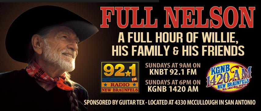 Guitar Tex is a proud sponsor of this fine radio show.