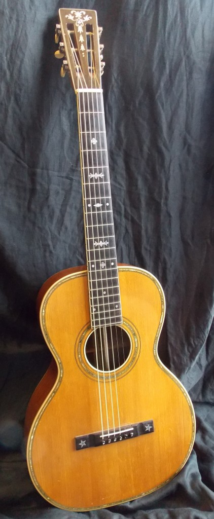 1930 model 435 Prairie State by the Larson Brothers of Chicago. This is one of those Holy Grail guitars that are generally only seen in museums.