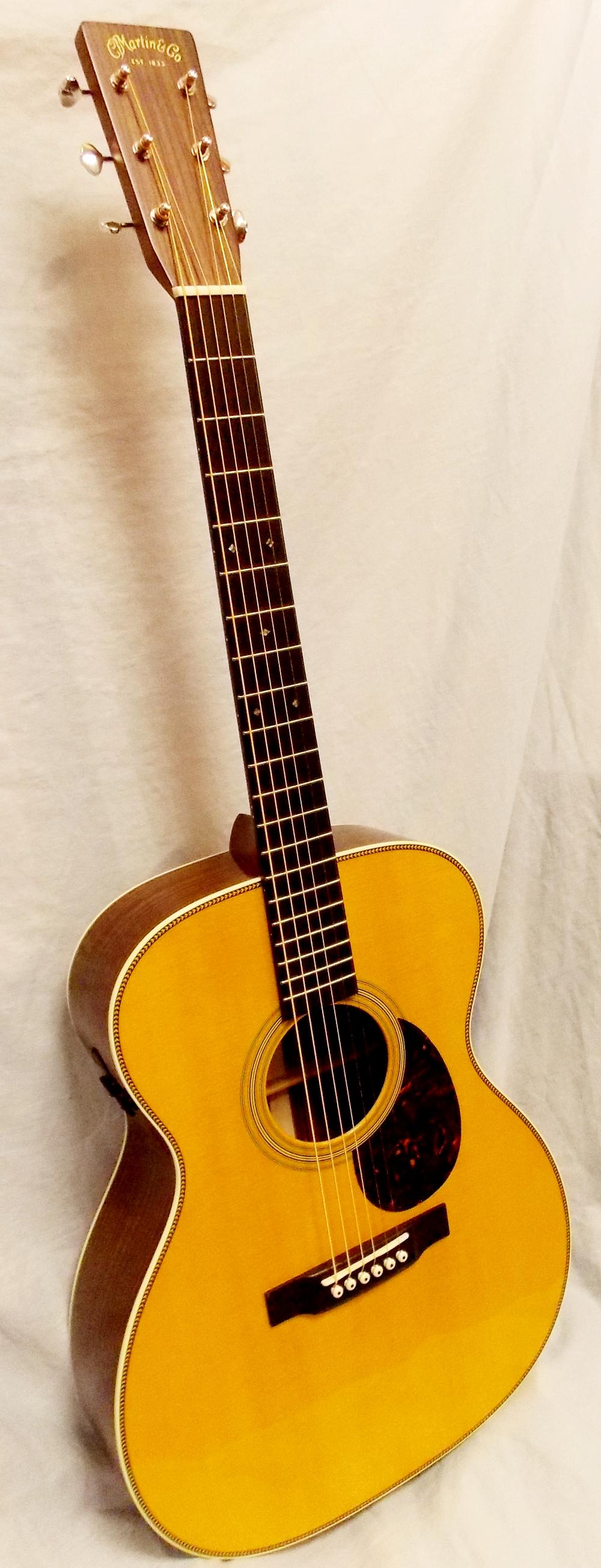 Martin Om28e Retro San Antonio Guitar Store Guitar Tex