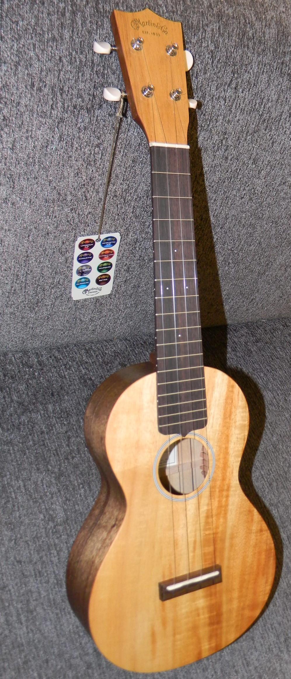 C 1K ukulele. all solid koa concert size $469.00