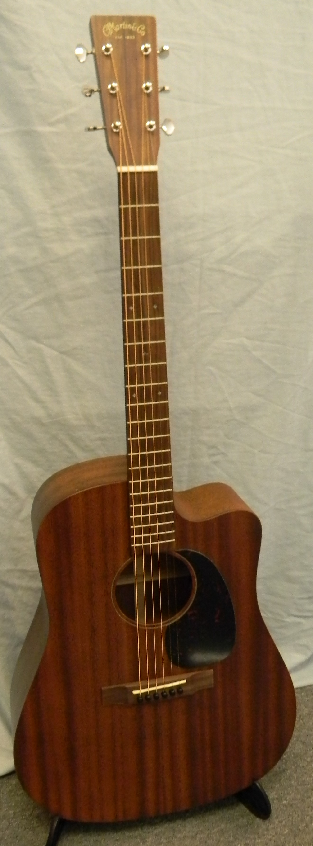 DC 15ME. All solid mahogany with Fishman Matrix VT Enhance pickup system. $1,799.00