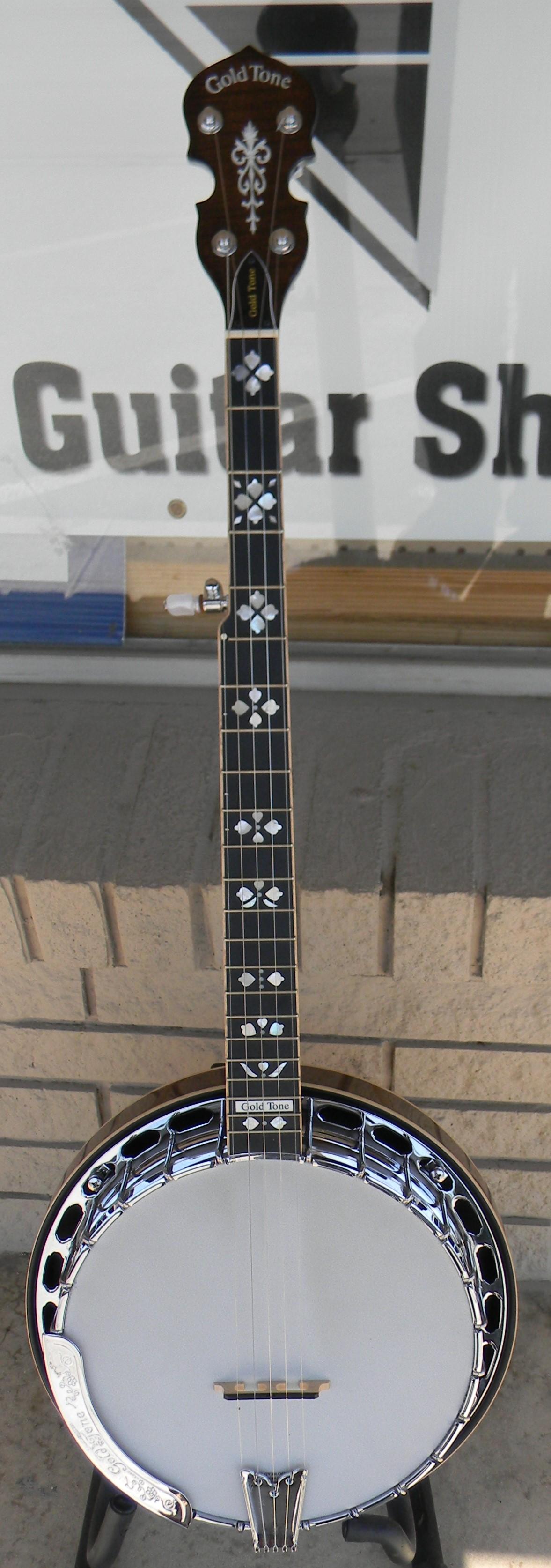 Gold Tone BG 250LW. 4 lbs lighter than the standard Bluegrass model. $1,099.00 w/case