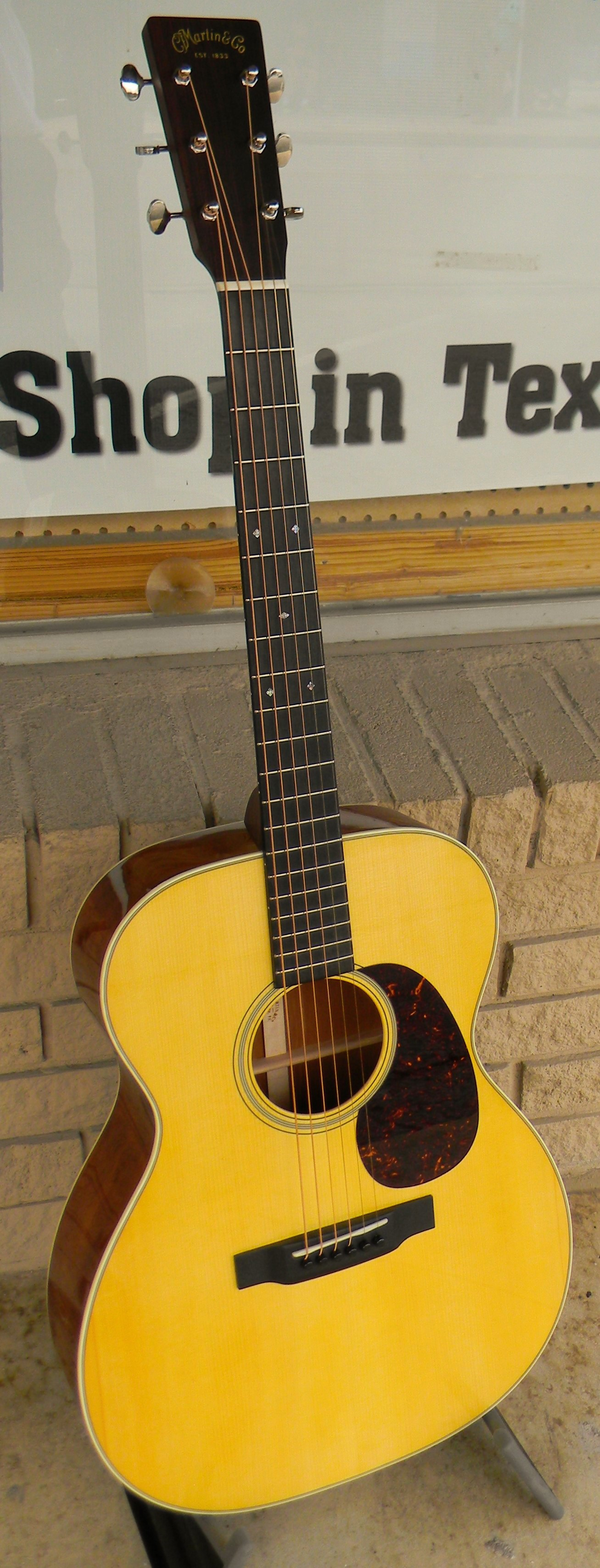 Custom Shop 000-18 with Adirondack spruce and sinker mahogany. SALE: $3,650.00