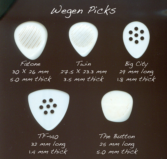 Michel Wegen hand makes some of the world's best picks. Made in The Netherlands.