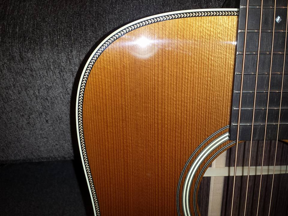 TD-R Custom with torrefied Adirondack spruce and Indian rosewood. $4,600.00